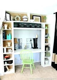 built in desk ikea bookcase ideas bookcase with desk small desk with bookcase bookcase built in