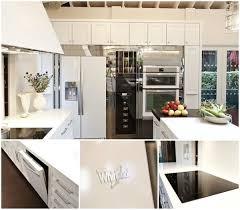 Whirlpool White Ice Collection 2012 House Beautiful Kitchen of the