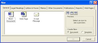 Microsoft Menu Microsoft Word File Menu