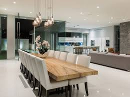 modern wood dining room sets. The Winklevoss Twins List Their L.A. Mansion For $110,000/Month. Neutral Dining RoomsDining Room ModernWood TablesNatural Modern Wood Sets H
