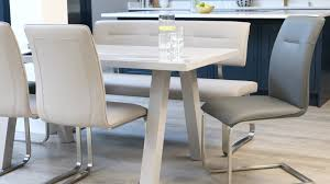 Fergus Faux Leather <b>Cantilever Dining Chair</b>   Faux Leather
