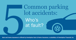 Alberta Insurance Fault Chart Avoiding Parking Lot Accidents Ameriprise Auto Home