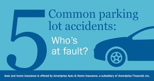 Alberta Automobile Fault Chart Avoiding Parking Lot Accidents Ameriprise Auto Home