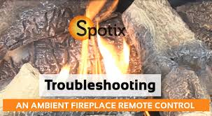 troubleshooting an ambient fireplace remote control