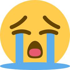 Image result for cry emoji