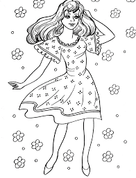Coloring Pages For Girls Fashion 2074831