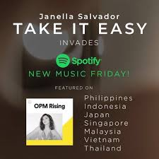 Spotify Charts Philippines Congratulations To Superjanella Take It Easy Invades