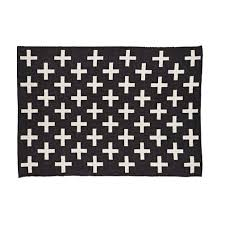 indoor outdoor rug black and white designs