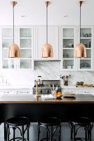 innovative hanging kitchen lights 17 best ideas about copper pendant lights on copper
