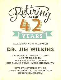 Retirement Invitations Free Retirement Party Invitation Template End Of The Year