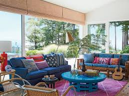 home trend furniture. Delighful Home This Stinson Beach California Living Room Puts Its Pop Of Turquoise Dead  Center In And Home Trend Furniture G
