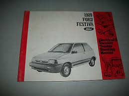 ford festiva io 1989 ford festiva electrical vacuum troubleshooting manual evtm