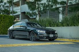 Sport Series 2017 bmw 7 series : All-New BMW 7 Series Adorned With Vorsteiner V-FF 107 Wheels in ...