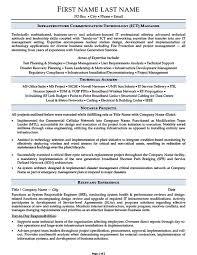 Infrastructure Communication Technology ICT Manager Resume Mesmerizing Communications Manager Resume