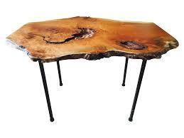 Burl Coffee Tables Raw Edge Cherry Burl Coffee Table Chairish
