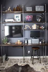 diy industrial pipe and wood shelves tips and tricks