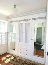 marvellous bedroom built wall closets