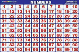 100 Chart Poster 1 To 100 Counting Numbers Chart Reading Education Home