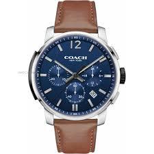 """men s coach bleecker chronograph watch 14602015 watch shop comâ""""¢ mens coach bleecker chronograph watch 14602015"""