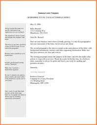 Template Email Etiquette Template Business Letter Format Sample Ex