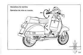 vespa t owner s manual if you prefer a pdf file of all the pages click here for a 7 8mb file