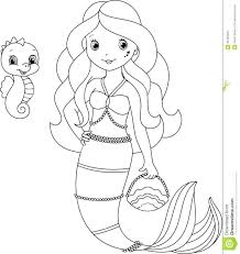 Mermaid Coloringes For Adults Famous Real Color Pictures Inspiration
