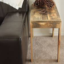 wood end tables. Reclaimed Wood Solid End Table - Free Shipping JW Atlas Co. Tables