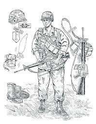Military Coloring Page Coloring Book Cool Military Coloring Page For
