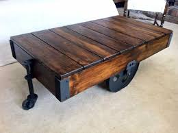 coffee table knock off a restoration hardware factory cart coffee table save coffee tables