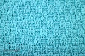 Crochet Basket Weave Pattern