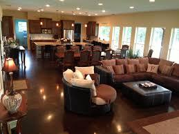 Open Living Room Kitchen Designs Open Kitchen Living Room Dining Room Wwwplentus