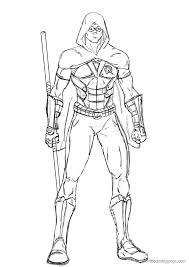 young justice coloring pages young justice injustice character coloring page printable