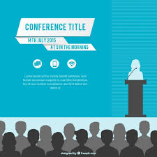 Conference Announcement Flyer Template Conference Poster Template