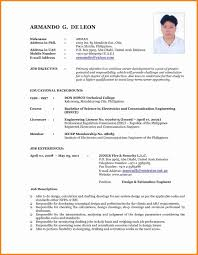Examples Of Current Resumes Resume Hobbies Section Interests On