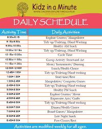 Summer Camp Daily Schedule Template Best Photos Of Fun For Daily Schedules Templates Kids Summer Camp