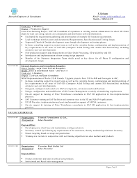 Sap Sd Years Cool Sap Basis Resume 2 Years Experience Importance