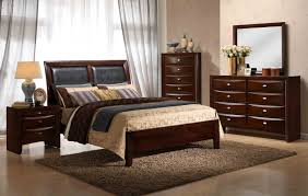 emily contemporary wood bedroom set king bed dresser mirror 2 night stands