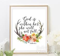 Christian Baby Quotes Best of Psalm 2424 Christian Wall Art Scripture Print Nursery Bible Verse