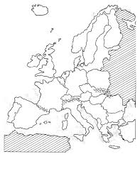 Western europe blank political map mr remarkable west quiz