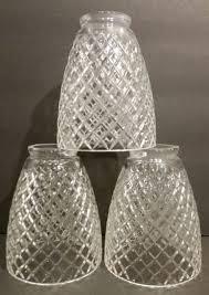 glass globes for light fixtures stupefy 3 crystal diamond cut glass shade fixture globe chandelier fan