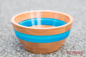 Making wooden bowls Project How To Make An Epoxy Resin And Wood Bowl Fix This Build That How To Make Resin And Wood Segmented Bowl Fixthisbuildthat