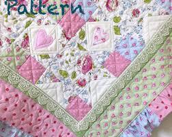 Baby quilt pattern | Etsy & Ruffle Baby Quilt Pattern, baby girl Quilt Patterns - Quilt Pattern baby - baby  blanket Adamdwight.com
