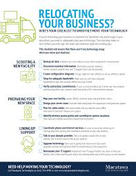 Macatawa Technologies Relocating Your Business Heres Your