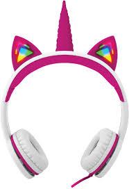 Unicorn Light Up Headphones Amazon Com Gabba Goods Premium Safe Sound Led Light Up In