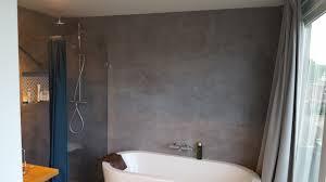 Stucen Op Kleur Modern Badkamer Muur Stucen Elegant Betonlook Wand