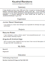 What Are The Free Website To Make My Resume Online Quora
