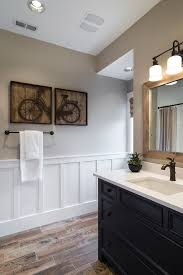 wall panels bathroom powder room
