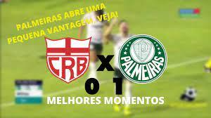CRB x PALMEIRAS - MELHORES MOMENTOS - COPA DO BRASIL - 03-06-2021 - YouTube