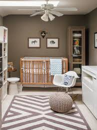 Brown Neutral Gender Nursery Ideas