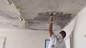 Painting New Skimmed Plaster Ceiling L